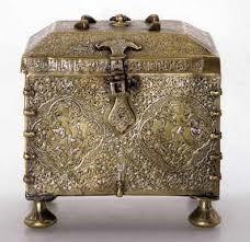 جعبه جواهرات ساخته شده به روش ورقکاری