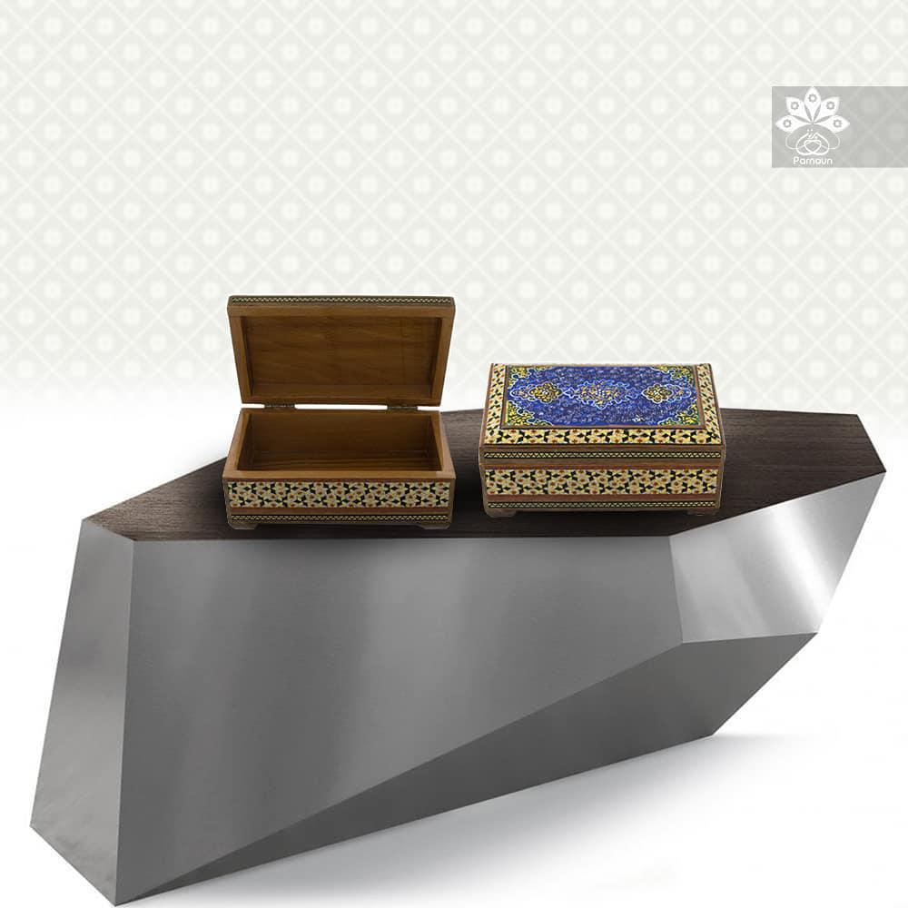 جعبه خاتمکاری اصفهان