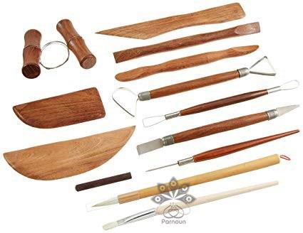 ابزار و وسایل شکلدهی بدنه در هنر سفالگری